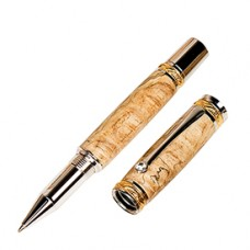 Majestic 22kt Gold/Rhodium Rollerball Pen Kit