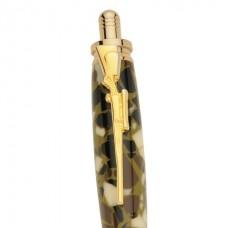 Hunter's Rifle Clip in 24kt Gold for 30 Caliber Bullet Cartridge