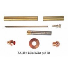 Mini Bullet Copper Twist Pen Kit