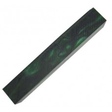ACRYLIC BLANK DARK GREEN WITH BLACK LINE