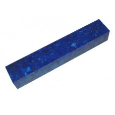 Acrylic Blank Dark Blue with White Crush