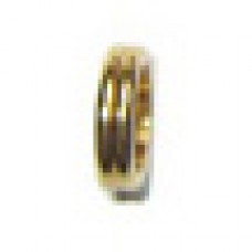 Centre Band Slimline Pen Gold (Double Ring) Pkt. 5