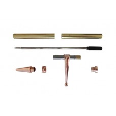 Slimline Fancy Pen Kit Matt Chrome