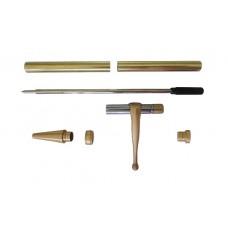 Slimline Fancy Pen Kit Satin Gold