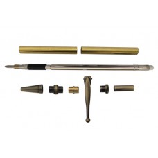 Slimline Fancy Pencil Kit Antique Polished Bronze
