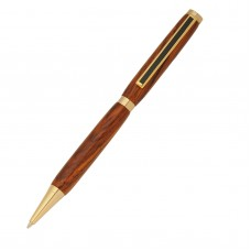 Slimline Pen Gold (Black Stripe)