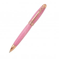 Breast Cancer Awareness Rose Gold with Pink Crystals Twist Pen Kit