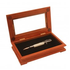 Fancy Single Rosewood Pen Display Box