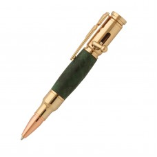 Economy Mini Bolt Action Gold  Pen Kits
