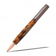 30 Caliber Bullet Cartidge Gun metal Rollerball Pen Kit