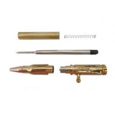 Economy  Bolt Action Gold Bullet Cartridge Pen Kit