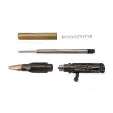 Economy  Bolt Action Gun Metal Bullet Cartridge Pen Kit