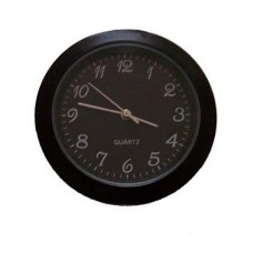 Black Clock Insert  with  black dial and arabic numerals Dia.Ø33mm
